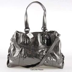 Coach Metallic Bag With Dust Bag