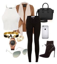 """Fall fashion look"" by zana-novakk ❤ liked on Polyvore featuring Cartier, Yves Saint Laurent, Audemars Piguet, ALDO, Givenchy, maurices and Hermès"