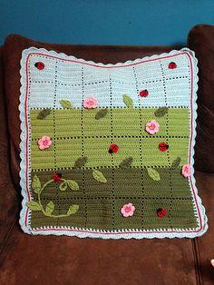 Ravelry: P-NutGallery's Ladybug Blanket