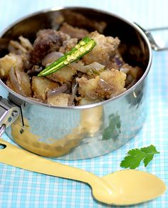 Indian Beef and Potato Stir Fry