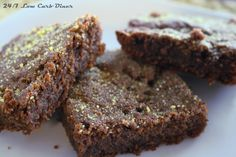 24/7 Low Carb Diner: Pumpkin Nut Blondies--stevia sweetened, gluten free