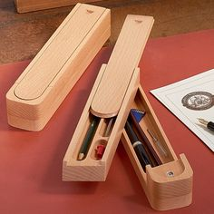 Garrett Wade Personal Pen & Pencil Box