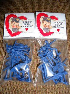 Boy valentines idea