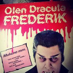 #Olen #Dracula #Frederik #vinyl #album #Halloweenmusic