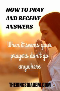 How to pray and receive answers when it seems your prayers are not getting answered. #howtopray #prayer #faith #prayandreceiveanswers Faith Prayer, God Prayer, Faith In God, God Answers Prayers, Answered Prayers, What Is Prayer, Effective Prayer, Faith Is The Substance, Bible Promises