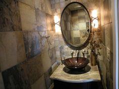 half bath ideas | Tiny half bath - Bathroom Designs - Decorating Ideas - HGTV Rate My ...