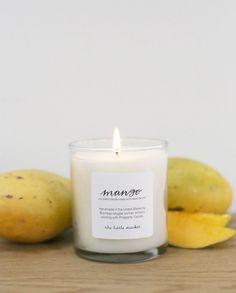 mango candle.