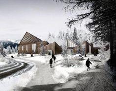 3D visualisation by NVUS Designs - Hatlehol Church Norway (3d-01)