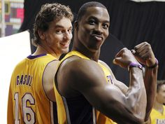 Lakers' new centre Dwight Howard ready to learn from Kobe Bryant