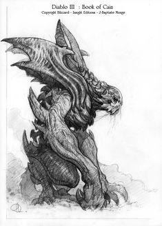 art_hub - Diablo III.Concept art.