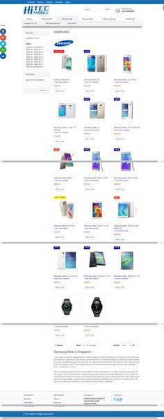 Wonderful Top 20 Websites that Sells Samsung Galaxy in Singapore