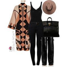 Untitled #2803 by stylebydnicole on Polyvore featuring James Perse, Temperley London, Noisy May, Givenchy, Hermès and Allurez