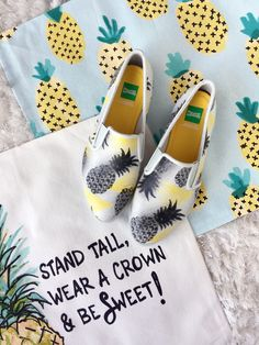Get on board with the pineapple shoes trend for Spring Summer 2017! From pineapple sneakers, sandals, heels & espadrilles, shoe-tease.com has you covered!