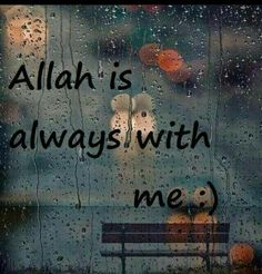 Yes He is..never will He leave me or let me down and that is His promise..Subhaan Allah..thank you Allah for blessing me with Islam :-)..