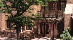 Rosewood Inn of the Anasazi, Santa Fe, New Mexico.  Beautiful hotel, wonderful service!