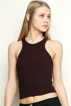 Brandy ♥ Melville   Kathleen Tank - Tanks & Halters - Tops - Clothing