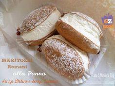 Maritozzi con panna - Food in Rome Cocoa Krispies, Best Food In Rome, Rome Food, Sin Gluten, Cake Calories, Hot Dog Buns, Food Network Recipes, Gluten Free Recipes, Gastronomia
