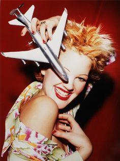 Drew Barrymore by David LaChapelle