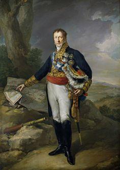 Vicente López y Portaña - Pedro de Alcántara Álvarez de Toledo y Salm Salm, XIII duque del Infantado (Museo del Prado) 1827