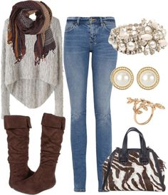 """""""Winter/Autumn Fashion."""" by alyssaotoole ❤ liked on Polyvore"""