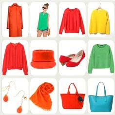 ビビッドスプリング - Key to Beauty's コーディネート Bright Spring, Spring Colors, Winter 2017, Color Inspiration, My Style, How To Wear, Outfits, Clothes, Colour
