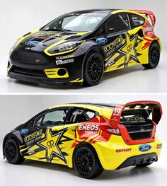 Tanner Foust Ford Racing Ford Fiesta ST. Proof that my car can be a speed demon lol