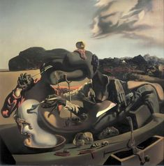 Autumn Cannibalism by Salvador Dali (1936).