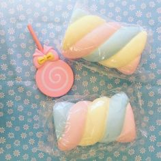 Soft and super slow rising, this marshmallow is irresistible! Jumbo Squishies, Cute Squishies, Kawaii Plush, Kawaii Cute, Squishy Kawaii, Balle Anti Stress, Just You And Me, Kawaii Accessories, Unicorn Crafts