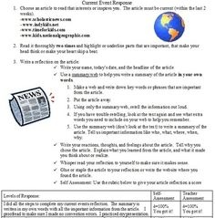 How to write a summary of a research article Composition Classroom   blogger Newspaper Article rubric grade     Google Search