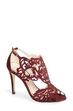 'Marcela' Laser Cutout Sandal (Women)
