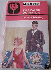 Mary Wibberley THE DARK WARRIOR 1979 Mills & Boon 1515 Vintage Romance