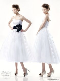 Blue by Enzoani 2011 bridal collection