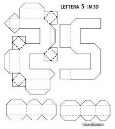 Easy Diy Gifts, Diy Gift Box, Diy Box, Quilling Paper Craft, Paper Crafts Origami, Diy Paper, 3d Templates, Alphabet Templates, Diy Yarn Decor