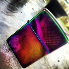 Spectrum Zippo Lighter – $13