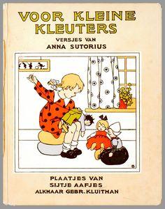 Voor kleine kleuters / versjes van Anna Sutorius ; plaatjes van Sijtje Aafjes
