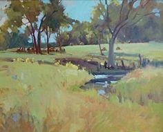 Thomasville Farm by Mary O. Smith Oil ~ 16 x 20