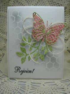 Great idea for birthday too Stampin' Up!