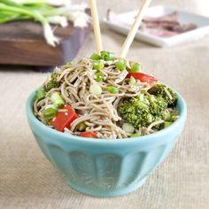 #HEALTHYRECIPE - Sesame Ginger Soba Noodles - Munchin with Munchkin