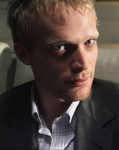 Paul Bettany. interestingly handsome, or something like that.
