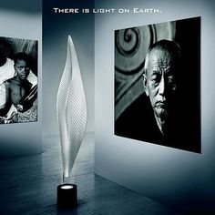 The Cosmic Leaf was designed by Ross Lovegrove for Artemide.