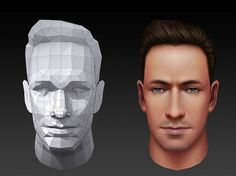 3d Model Character, Character Modeling, 3d Modeling, Character Art, Character Design, Face Topology, Drawn Art, Modelos 3d, Low Poly Models