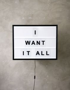 I Want It All ! #zitat #quote #qotd #shopping #online #onlineshopping #dealscom
