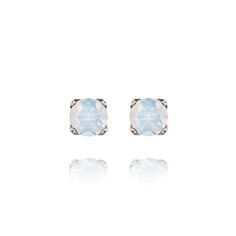 Round Opal Stud Earrings (October Earrings) Receive a free pair with a purchase of $125 or more! http://www.chloeandisabel.com/boutique/pinkandpearls