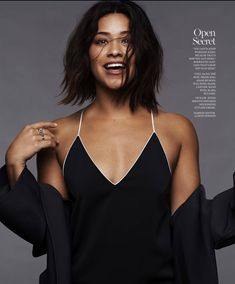 """ginarodriguez-news: """"Gina Rodriguez for Marie Claire - January 2017 """""""