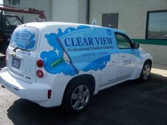 Professional Window Cleaning, Chevy Hhr, Vehicle Signage, Panel Truck, Vehicle Wraps, Window Cleaner, Car Wrap, Van, Trucks