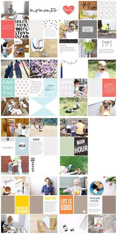 Project Life App Pages - May 2015 | Project Life CT member Julie Love Gagen