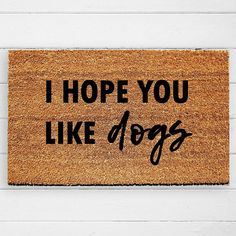 Doormats to brighten your porch for spring