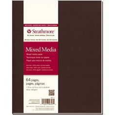 """Strathmore Softcover Mixed Media Journal 7.75""""X9.75"""""""