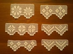 Discover thousands of images about Easy crochet edgings Crochet Boarders, Crochet Edging Patterns, Crochet Lace Edging, Doily Patterns, Crochet Trim, Crochet Doilies, Crochet Edgings, Filet Crochet, Crochet Chart