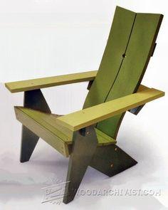 3968-Adirondack Chair Plans